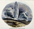 Geography; hot springs in Iceland, with vegetation in the fo Wellcome V0025028.jpg