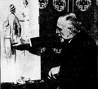 George Fort Gibbs - George Gibbs at work, 1919