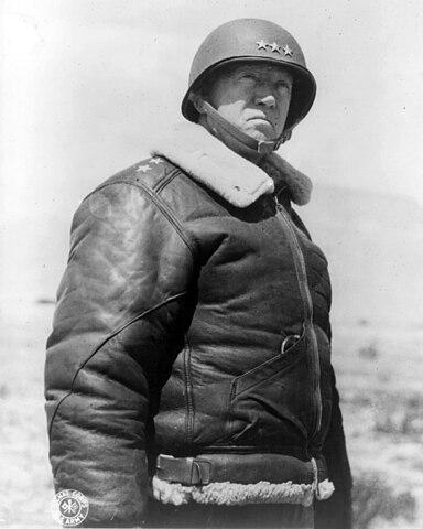 Генерал-лейтенант Джордж Паттон, 30 марта 1943 года