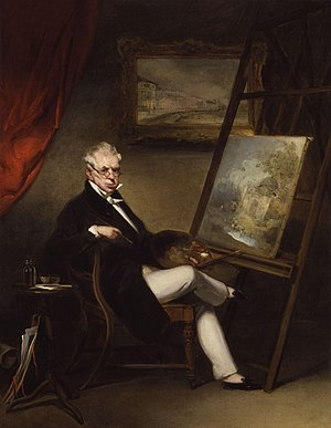 George Chinnery - Self-portrait, c. 1840