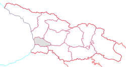 Location of Guria within Georgia