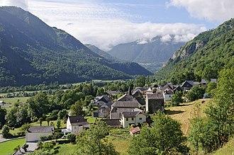 Gère-Bélesten - A view of the village of Gère