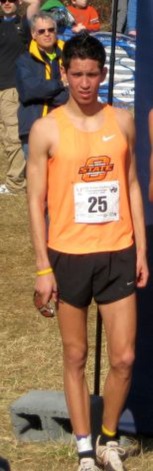 German Fernandez - Fernandez after winning the  2009 US Junior Cross Country Championships