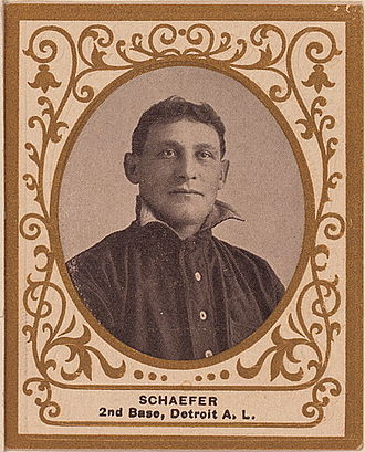 1909 Detroit Tigers season - Germany Schaefer