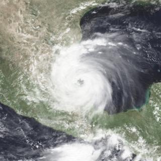 Hurricane Gert Category 2 Atlantic and Pacific hurricane in 1993
