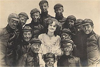 The Orchid - Millar, as Violet, and boys
