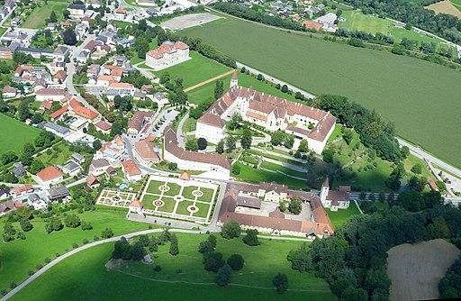 Gesamtanlage Benediktinerstift St. Paul im Lavanttal, Luftbild