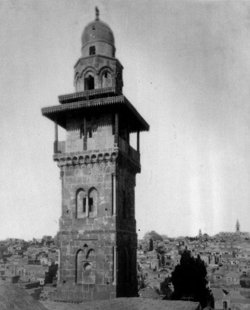 Ghawanima Minaret-Aqsa