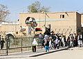 Ghazni PRT pays visit to Afghan girls school DVIDS333783.jpg