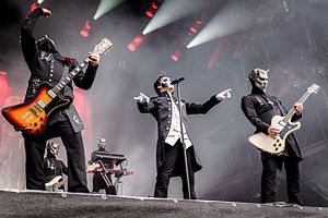Ghost (Swedish band) - Ghost performing in Germany at Rockavaria, 2016