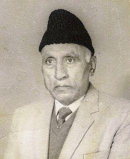 Ghulam Nabi Firaq Kashmiri poet, writer, educationist
