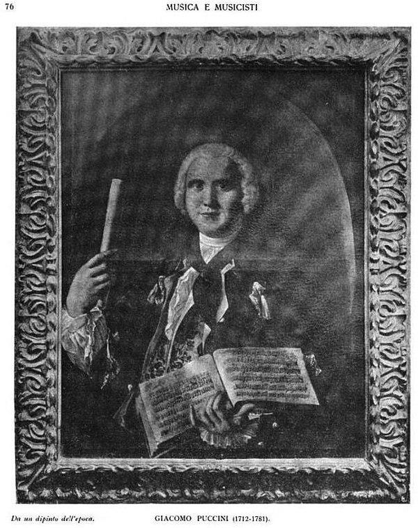Photo Giacomo Puccini via Wikidata