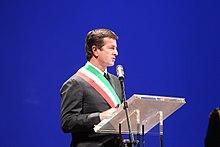 Gori alla cerimonia delle benemerenze civiche di Bergamo nel 2016.