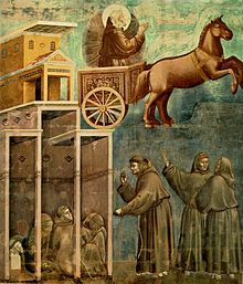 Giotto - Legend of St Francis - -08- - Vision of the Flaming Chariot.jpg