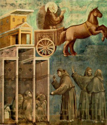 miracle of the crib at greccio Poor man 3 dream of the palace 4 miracle of the crucifix  page 5 of 9 13 institution of the crib at greccio 14 miracle of the spring 15.