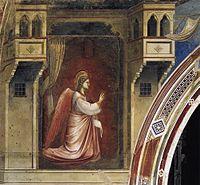 Giotto di Bondone - No. 14 Annunciation - The Angel Gabriel Sent by God - WGA09190.jpg