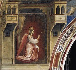 The Angel Gabriel sent by God