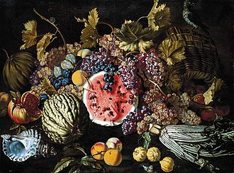 Giovan Battista Ruoppolo - Fruit and Shell