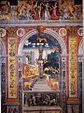 Giovanni Maria Falconetto, Mantua, Palazzo d'Arco, Sala dello Zodiaco, Sign of Leo.jpg