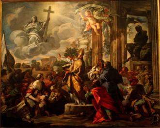 Giovanni Marracci - Saint Paul destroying the idols