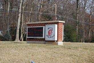 Glenelg High School - Image: Glenelg Sign