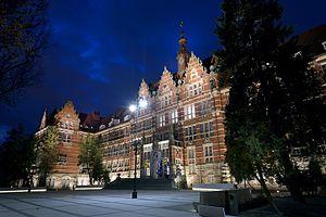 Gdańsk University of Technology - Image: Gmach glowny pg