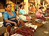Goan sausages being sold at the Mapusa market, Goa, India 01.jpg