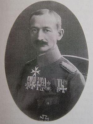 Battle of Syrjäntaka - The German major Godert von Reden