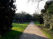Goldsteinpark Parkweg