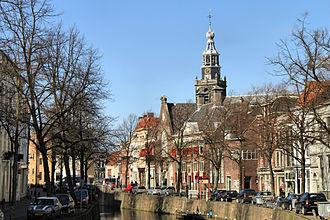 Gouda, South Holland - Gracht in Gouda.