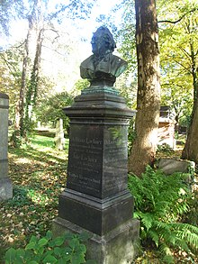 Grab von Franz Lachner auf dem Alten Südlichen Friedhof in München (Quelle: Wikimedia)