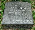 Grabstein Albert August F. Ramm (1837-1897) 01.jpg
