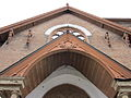 Grace ME Church Iberville NOLA Over Front Doors.JPG