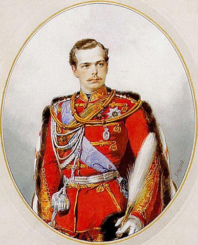 Цесаревич в гусарском мундире (1868)