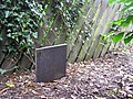 Gravestone, Hospital Road, Omagh - geograph.org.uk - 507056.jpg