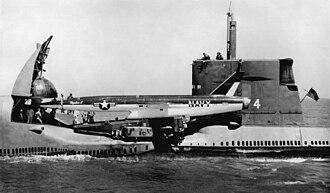 Cruise missile submarine - Image: Graybackmissle