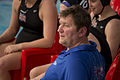 Great Britain water polo coach at AIS Aquatic Centre.jpg