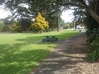 Green Bay, New Zealand - A park in Green Bay