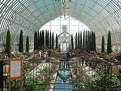 A greenhouse in Saint Paul, Minnesota.