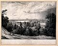 Greenwich, with London in the distance. Lithograph by or aft Wellcome V0013240.jpg