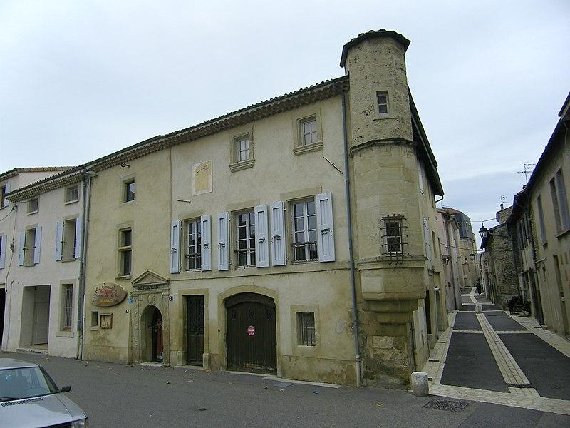 Maison du xve siècle construite par les seigneurs de Tournon