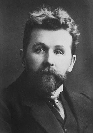 Alexander Gretchaninov - Postcard, 1905-1910 of Alexander Gretchaninov