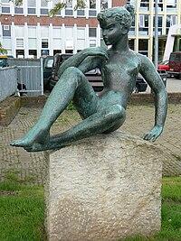 Groningen - Denkstertje (1962) van Wladimir de Vries.jpg