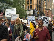 Proteste contro la costruzione di una moschea sul Ground Zero