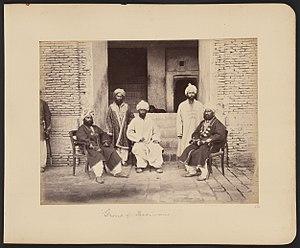 Farsiwan - Group of Farsiwans in 1878-1880