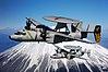 Grumman E-2C Hawkeyes of VAW-115 fly past Mount Fuji on 15 February 2007 (070215-N-2604L-024).jpg