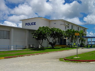 Barrigada - Image: Guam Police Department Building