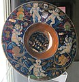 Gubbio, maestro giorgio andreoli, piatto a lustro, 1518.JPG