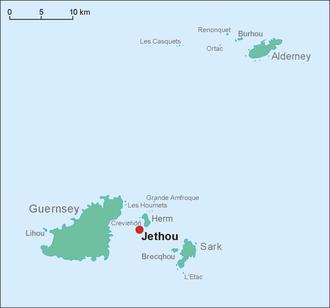 Jethou - Image: Guernsey Jethou