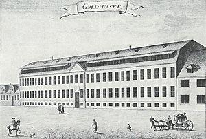 Garrison Hospital, Copenhagen - The Gold House